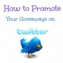 How to Promote Your Giveaways on Twitter