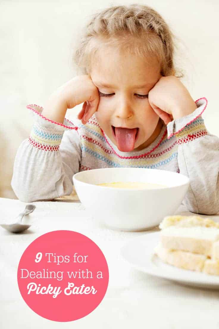 9 Tips for Dealing with a Picky Eater