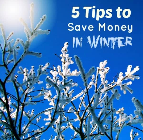 5 Tips to Save Money in Winter