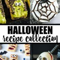 Halloween Recipe Collection - Halloween recipes that are a spooktacular dessert and recipes to serve up your family and guests this Halloween holiday. From party punch, mummy pizza, spooky desserts, and more.