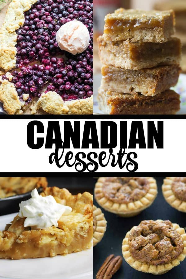 Looking for Canadian desserts? This list features a comprehensive round-up of our favourite desserts to try a taste of Canada!