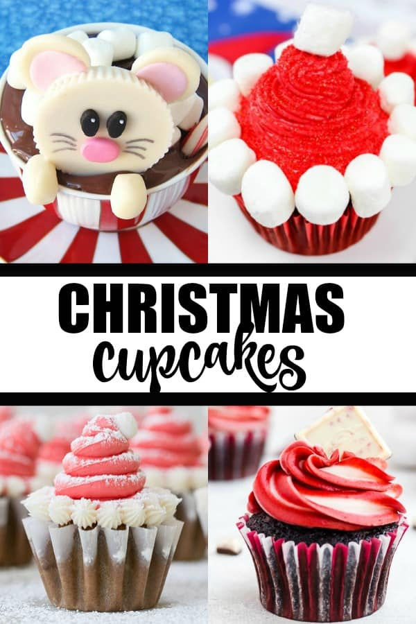 Christmas Cupcakes - There is a bit of everything in our Christmas cupcake collection. From super easy and frosted to elaborately decorated, there's something for everyone!