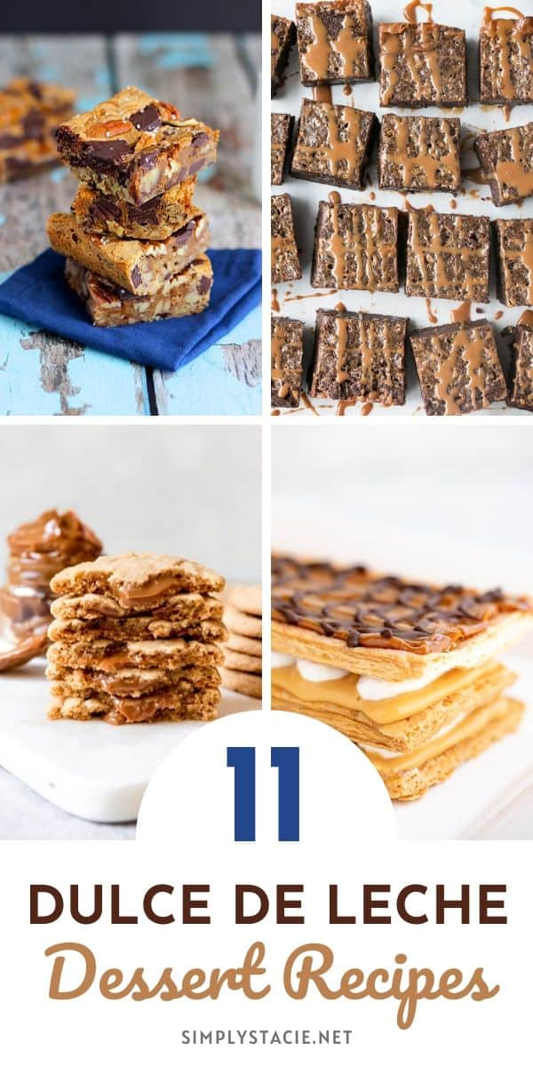 Dulce de Leche Desserts - If you haven't tried the deliciousness of Dulce de Leche desserts, then you don't know what you are missing! These yummy melt-in-your-mouth desserts are fabulously sweet and delicious. Dulce de Leche Desserts are the kind of desserts where you take a bite, close your eyes, and just take in the mouthwatering flavor.