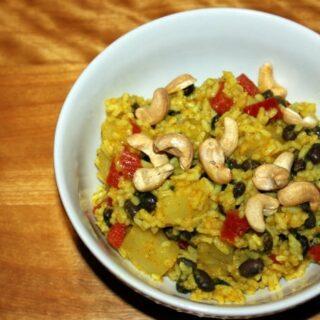 Jamaican Curried Rice Recipe