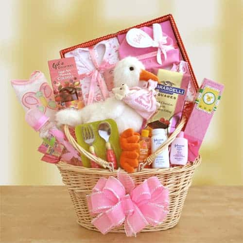 Baby Gift Baskets For Girl : One stop gift basket giveaway us simply stacie