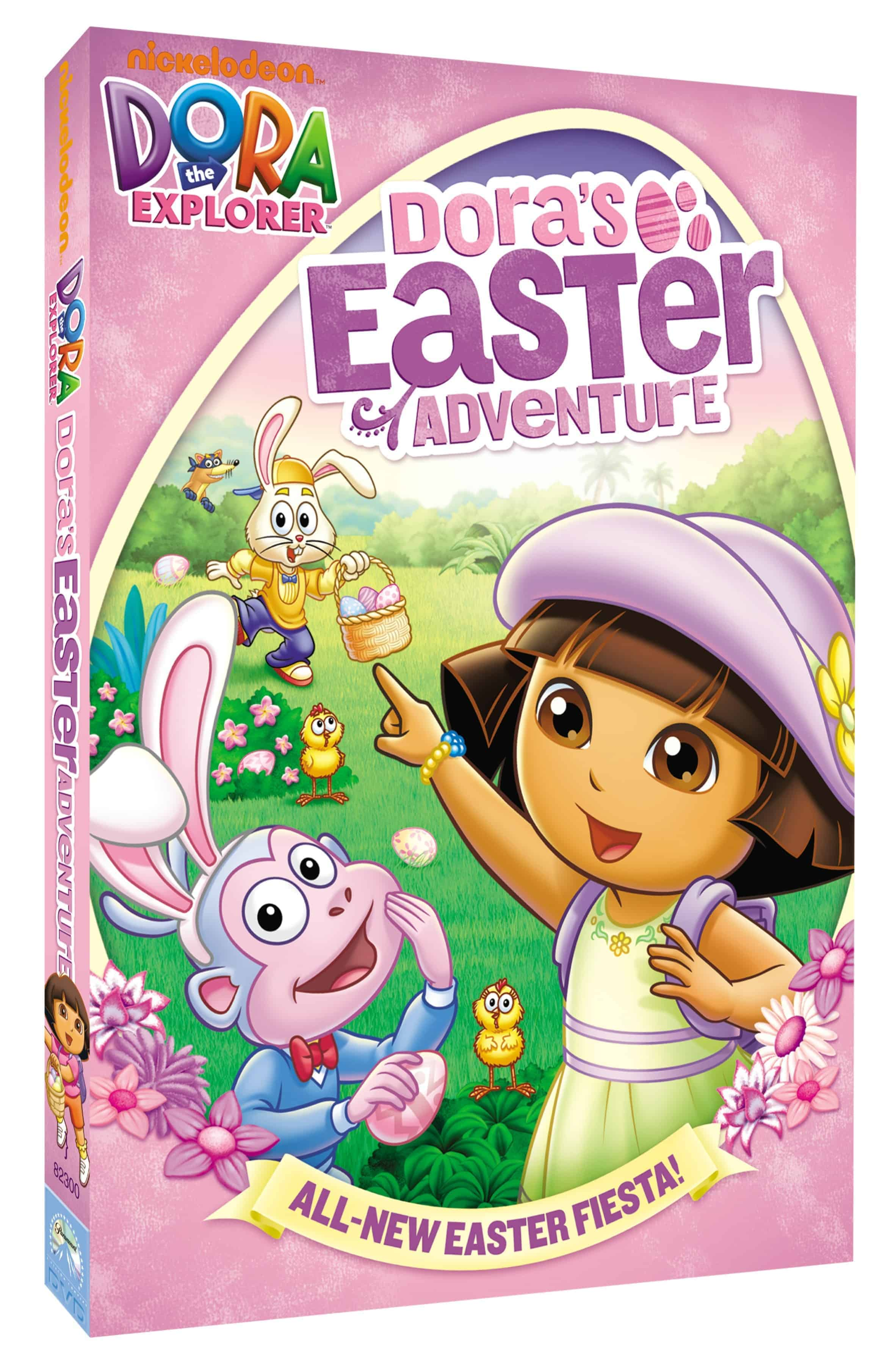 Dora The Explorer: Dora's Easter Adventure (DVD 2012 ...