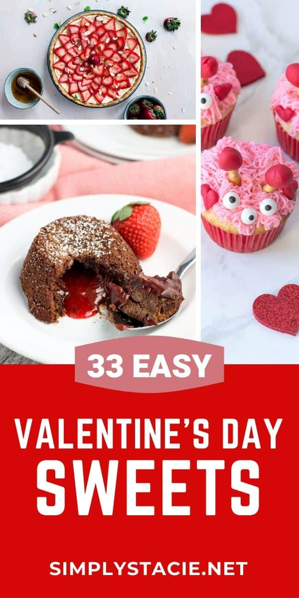 """Valentine's Day Sweets - This fabulously """"sweet"""" collection of rich decadent desserts features decadent flavors such as rich chocolates, sweet juicy strawberries, and more. Whether you are looking for a rich delicious cake or pie to share as an after-dinner treat with your sweetie OR fun V-Day cupcakes or cookies for the kids, you are sure to find the perfect Valentine's Day sweets!"""