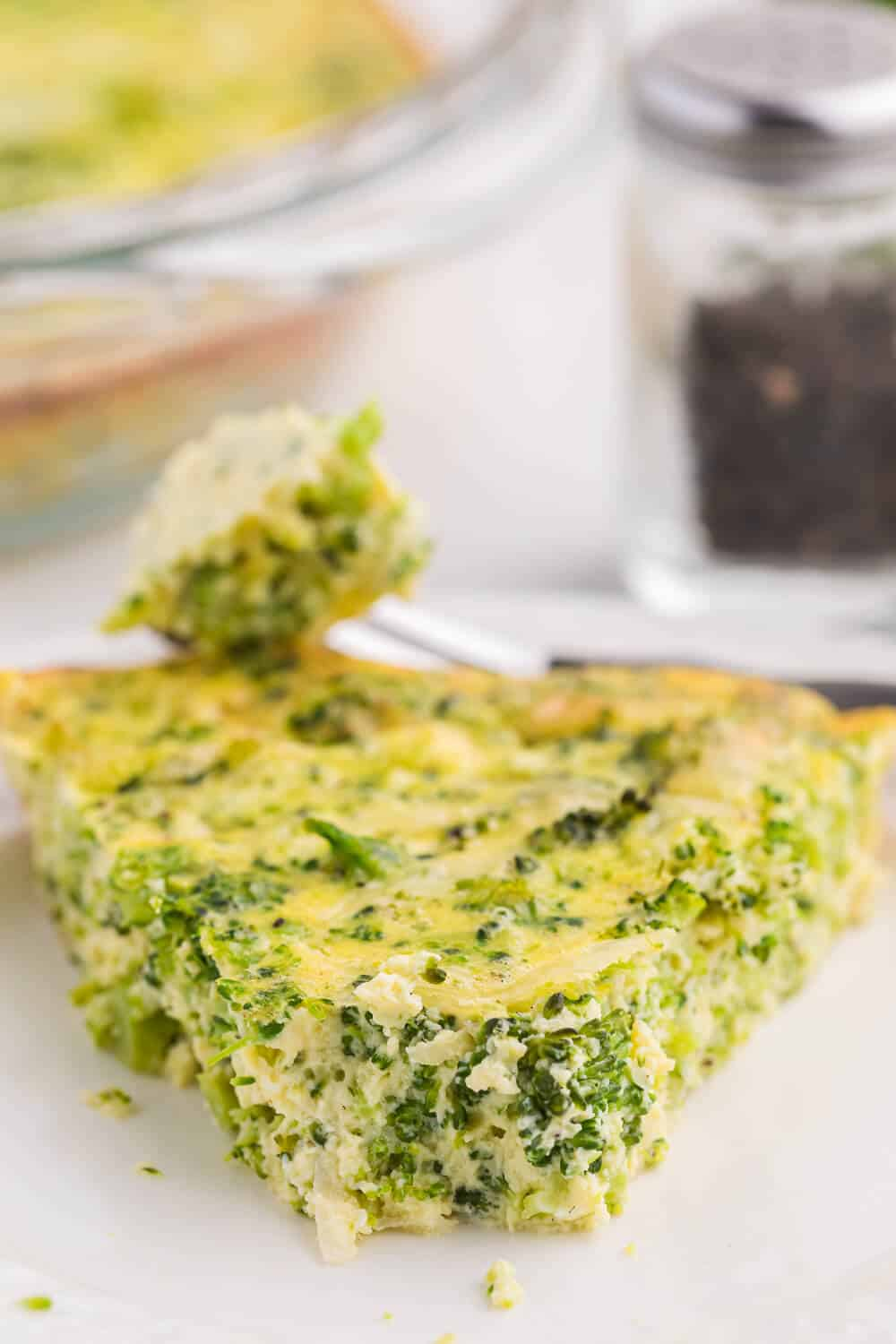 Broccoli Swamp - Don't let the name fool you - this versatile veggie-packed egg dish is delicious! Using fresh or frozen broccoli, along with eggs, Swiss cheese and a subtle garlic flavour, the whole family will love this dish!