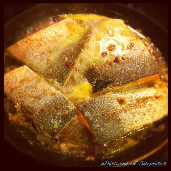 Drunken Salmon in 15 Minutes