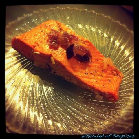Drunken Salmon in 15 Minutes Recipe