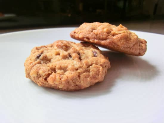 Peanut Butter & Oatmeal Chocolate Chip Cookies