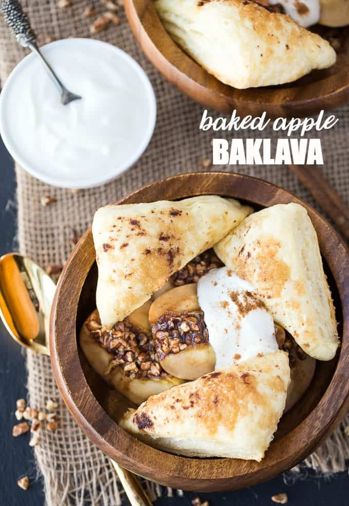 Baked Apple Baklava - A delicious twist on a classic dessert!