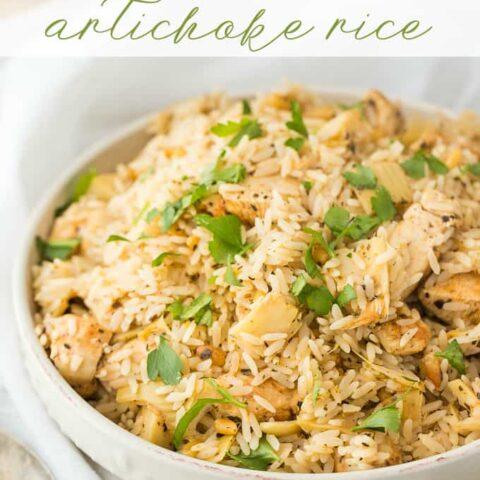 Chicken and Artichoke Rice