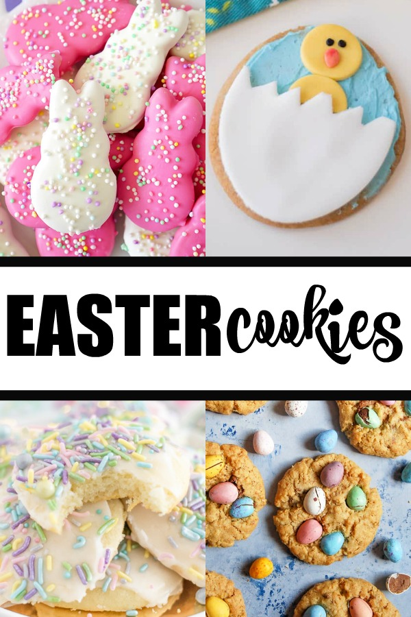 Easter Cookies - Looking for cute, tasty and spring-like Easter cookies? These list features lots of yummy treats to try at home.