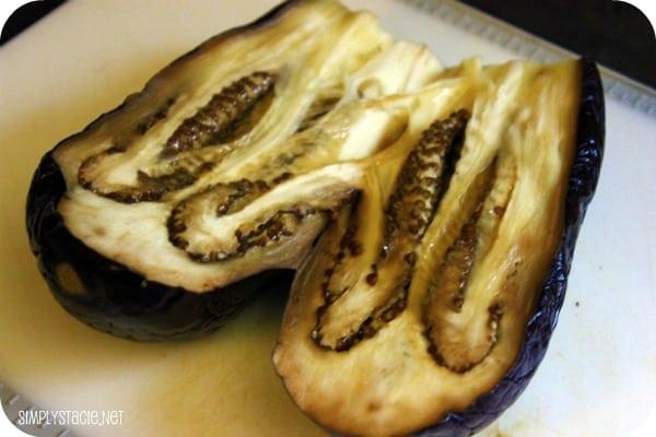 Grilled Eggplant & Yogourt Dip
