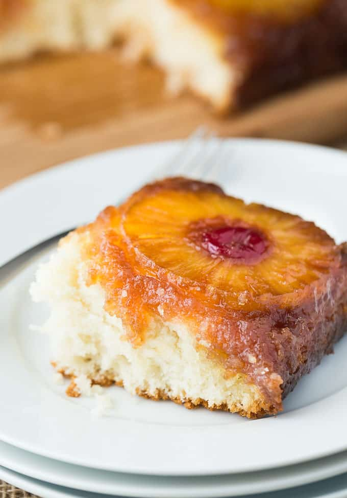 Pineapple Upside Down Cake - This retro dessert is always a favourite!