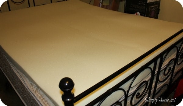 Nature's Sleep Memory Foam Topper Review & Coupon Code - Simply Stacie