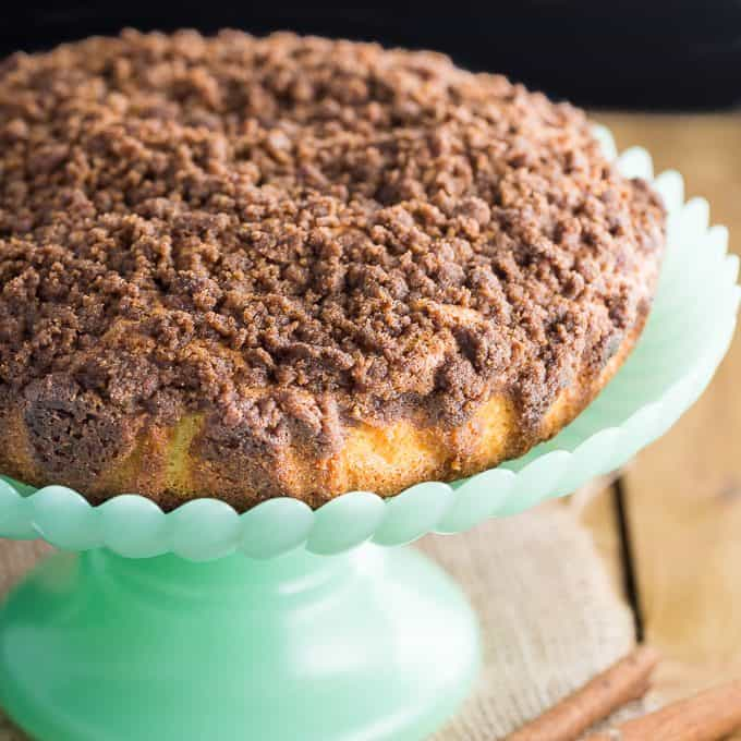 Streusel Coffee Cake - Serve with your fave hot beverage!