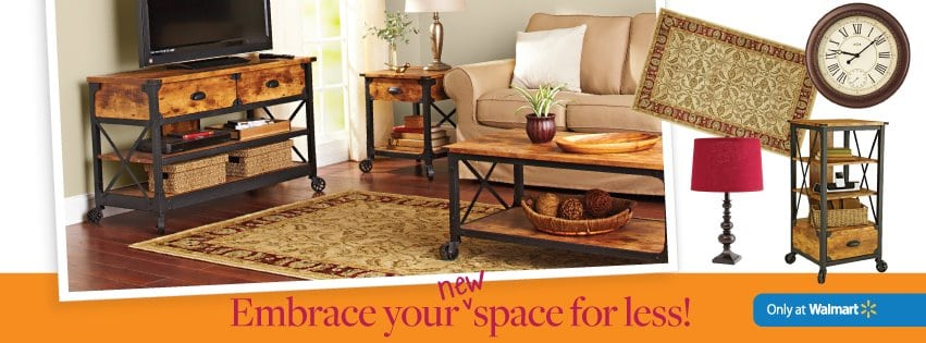 Embrace Your New Space Sweepstakes Walmart Gc Giveaway