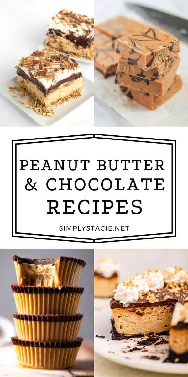 The Ultimate List of Peanut Butter & Chocolate Recipes - Just wait until you see the yumminess in our collection of Peanut Butter & Chocolate recipes.