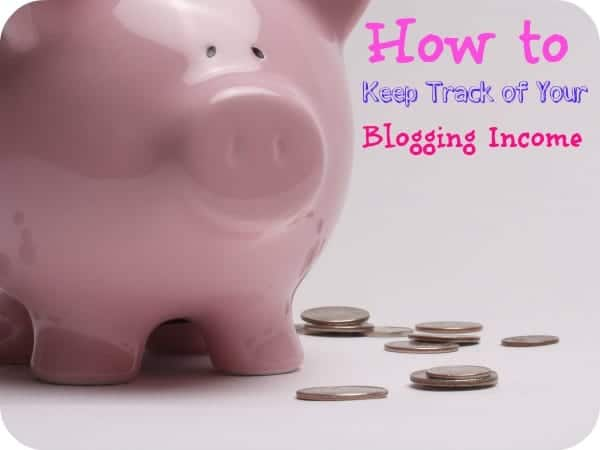 How to Keep Track of Your Blogging Income - I've been using this method for years because it WORKS! Plus, it's free, too.