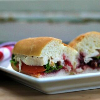 Turkey and Cranberry Sandwiches