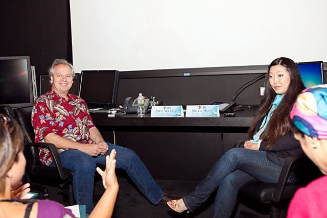 Fred Warter and Niki Huai