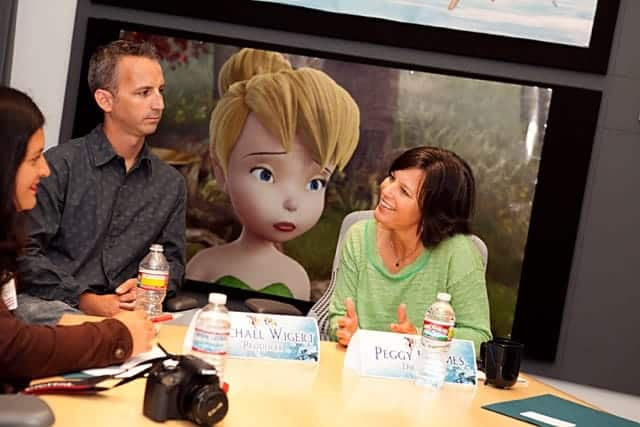 Michael Wigert and Peggy Holmes
