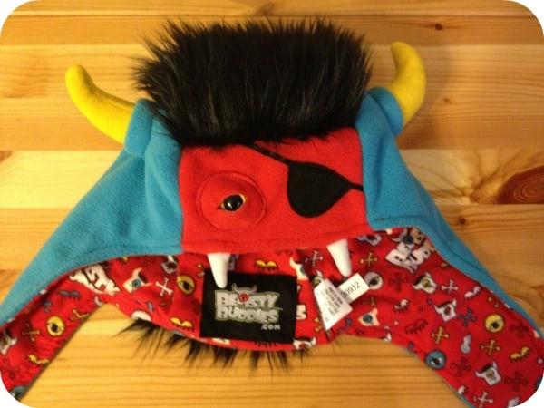 Beasty Buddies Fleece Monster Hat