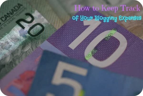 how to keep track of your blogging expenses simply stacie