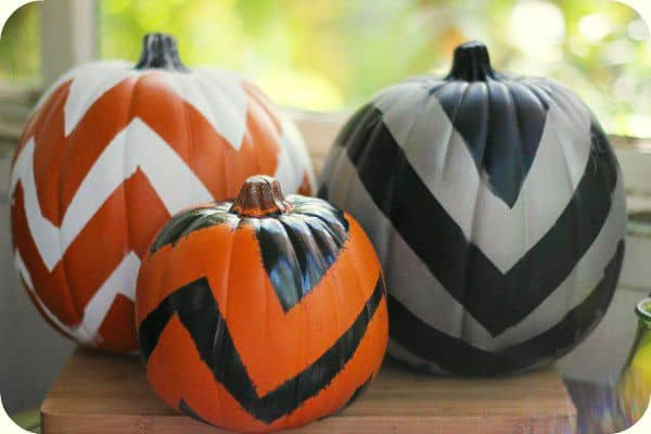 Chevron Pumpkin TutorialChevron Pumpkin Tutorial