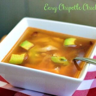 Easy Chipotle Chicken Soup Recipe