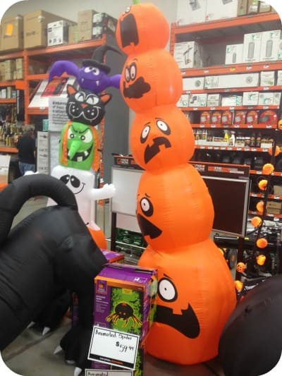 Decorating For Halloween With The Home Depot Simply Stacie
