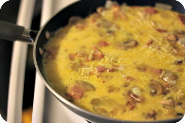 Turkey Bacon Frittata - healthy and low carb!