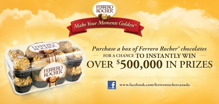 Ferrero Rocher Contest
