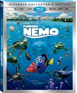 Finding Nemo 3D Five Disc