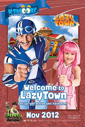 Kidtoons Welcome to LazyTown