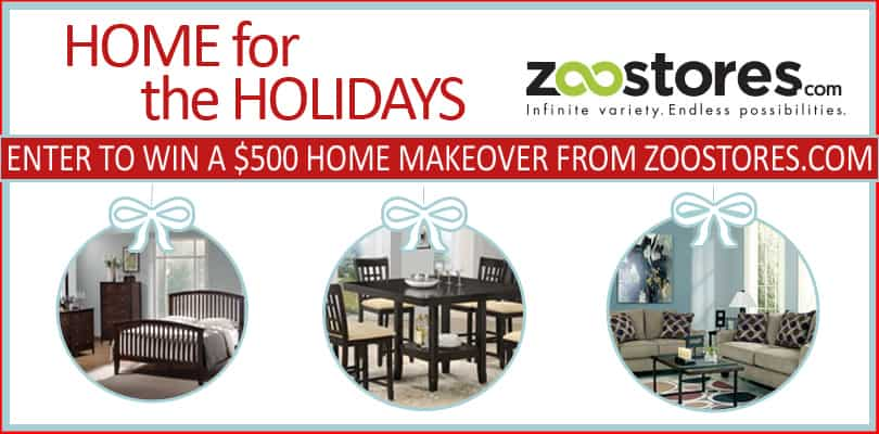 Zoostores.com Home for the Holidays Giveaway