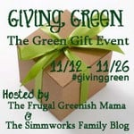 Giving Green 2012 Giveaway Hop