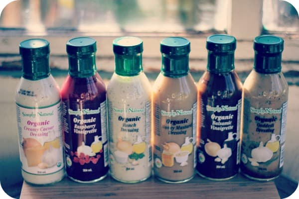 Simply Natural Organic Salad Dressings