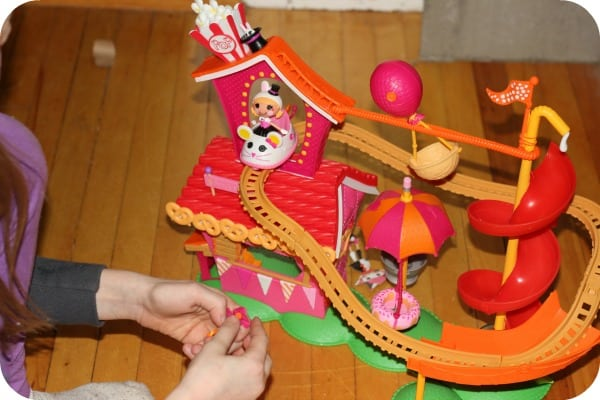 Mini Lalaloopsy Silly Fun House Playset
