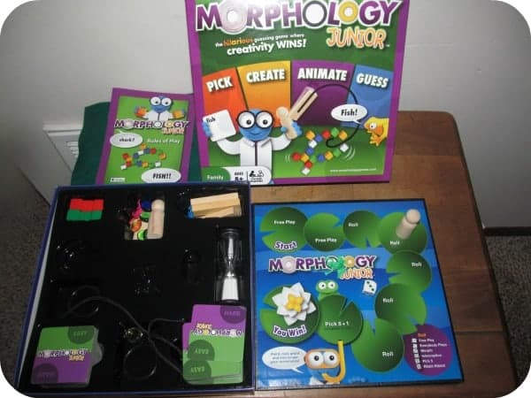 Morphology Jr. Board Game