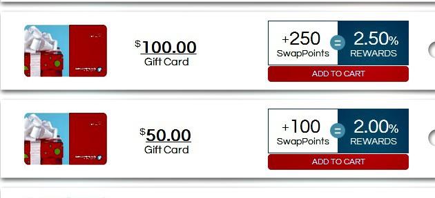 Shoppers Drug Mart gift card on CardSwap.ca