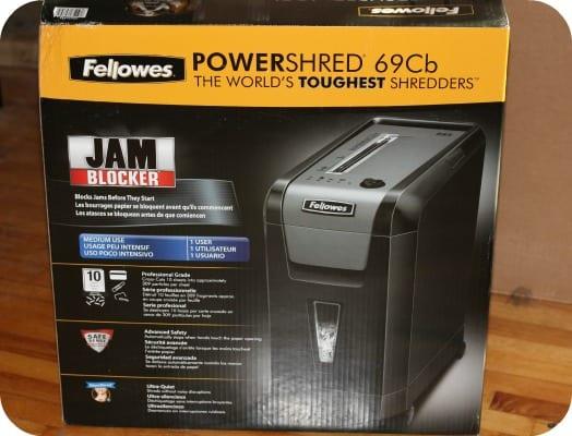 Fellowes Powershred 69Cb Shredder