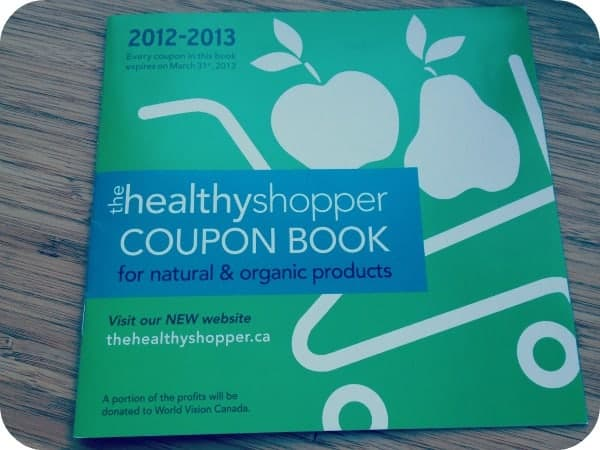 The Healthy Shopper Coupon Book