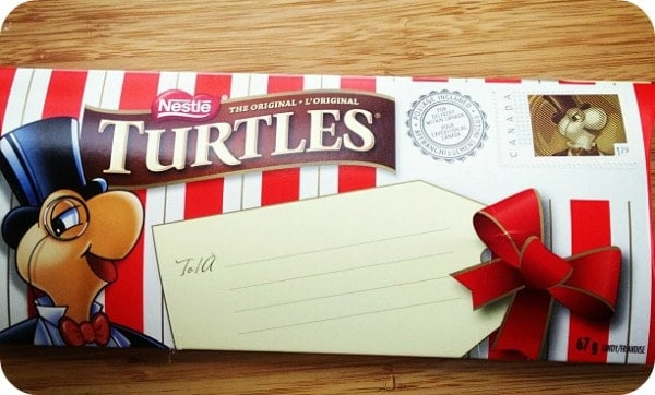 Nestle Turtles Canada Post Mailer