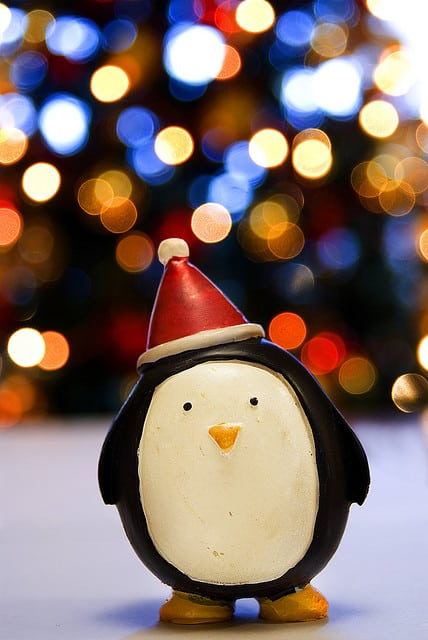 Happy Christmas Bokeh