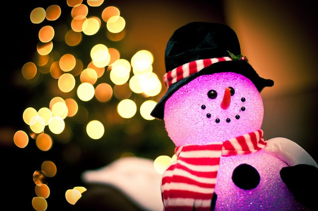 10 gorgeous photographs of Christmas bokeh!