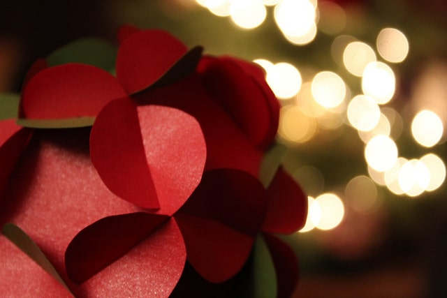 Christmas Bokeh Effect