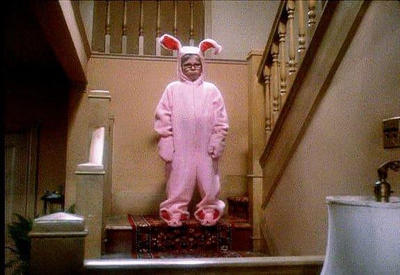 Ralphie in Bunny Suit